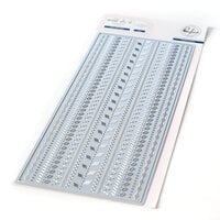 Pinkfresh Studio - Essentials Collection - Dies - Slimline - Stitches