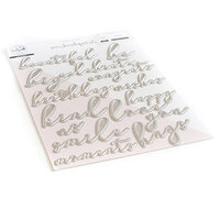 Pinkfresh Studio - Dies - Exclusive - Thin Words Everyday Script