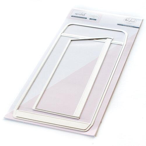 Pinkfresh Studio - Essentials Collection - Dies - Slimline - Mini Envelope