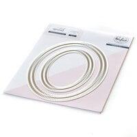 Pinkfresh Studio - Essentials Collection - Dies - Blanket Stitched Oval