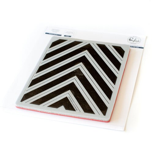 Pinkfresh Studio - Cling Mounted Rubber Stamps - Chevron Background