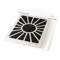 Pinkfresh Studio - Cling Mounted Rubber Stamps - Pop Out Sunburst