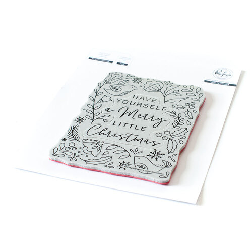 Pinkfresh Studio - Cling Mounted Rubber Stamps - Merry Little Christmas