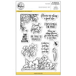 Pinkfresh Studio - Clear Acrylic Stamps - Always Flowers