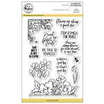 Pinkfresh Studio - Clear Photopolymer Stamps - Always Flowers