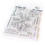 Pinkfresh Studio - Clear Photopolymer Stamps - Just Because
