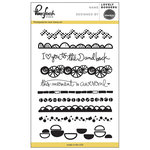 Pinkfresh Studio - Clear Acrylic Stamps - Lovely Borders