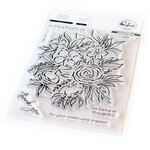 Pinkfresh Studio - Clear Photopolymer Stamps - Full Bloom
