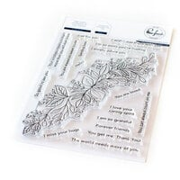 Pinkfresh Studio - Clear Photopolymer Stamps - Leafy Decor