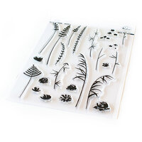 Pinkfresh Studio - Clear Photopolymer Stamps - Wild Flower Sketches