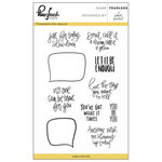 Pinkfresh Studio - Clear Acrylic Stamps - Fearless