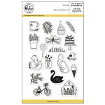 Pinkfresh Studio - Clear Acrylic Stamps - Itty Bitty Elements