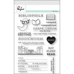 Pinkfresh Studio - Clear Acrylic Stamps - Bibliophile