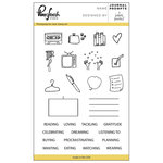 Pinkfresh Studio - Clear Acrylic Stamps - Journal Prompts
