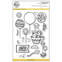 Pinkfresh Studio - Clear Photopolymer Stamps - Enjoy the Journey