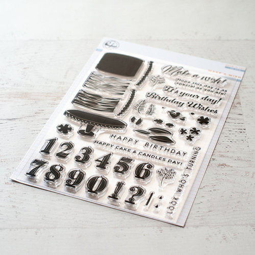 Pinkfresh Studio - Clear Photo Polymer Stamps - Make a Wish