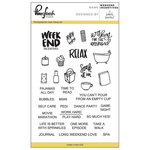 Pinkfresh Studio - Clear Acrylic Stamps - Weekend Incentives