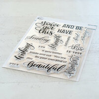 Pinkfresh Studio - Clear Photopolymer Stamps - You've Got This