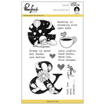 Pinkfresh Studio - Clear Acrylic Stamps - Late Nights