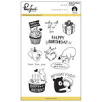 Pinkfresh Studio - Clear Acrylic Stamps - B'day Love
