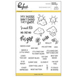 Pinkfresh Studio - Clear Photopolymer Stamps - Mood Swings