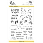 Pinkfresh Studio - Clear Acrylic Stamps - Mood Swings