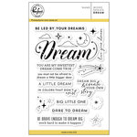 Pinkfresh Studio - Clear Acrylic Stamps - Word Series - Dream
