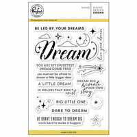 Pinkfresh Studio - Clear Photopolymer Stamps - Word Series - Dream