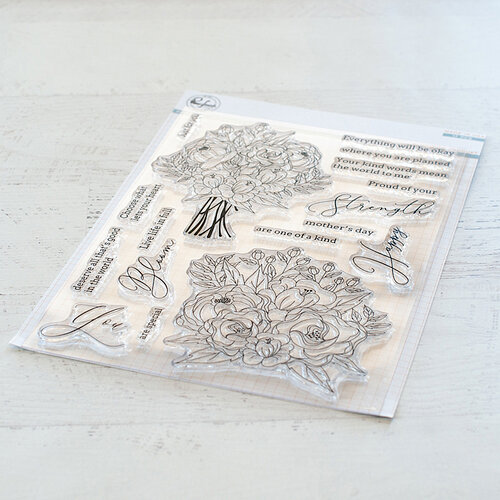 Pinkfresh Studio - Clear Photopolymer Stamps - Blooming Bouquet