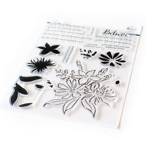 Pinkfresh Studio - Clear Photopolymer Stamps - Believe in Yourself