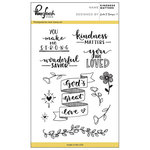 Pinkfresh Studio - Clear Acrylic Stamps - Kindness Matters