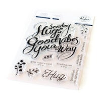 Pinkfresh Studio - Clear Photopolymer Stamps - Hugs and Good Vibes