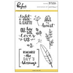 Pinkfresh Studio - Clear Acrylic Stamps - With all my Heart