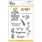 Pinkfresh Studio - Clear Acrylic Stamps - Walk by Faith