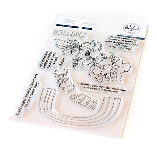 Pinkfresh Studio - Clear Photopolymer Stamps - Keep Going