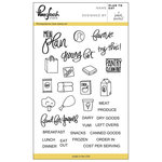 Pinkfresh Studio - Clear Acrylic Stamps - Plan to Eat