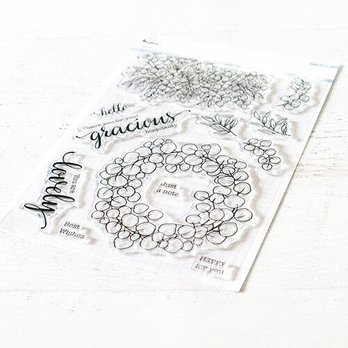 Pinkfresh Studio - Clear Photopolymer Stamps - Eucalyptus Fantasy