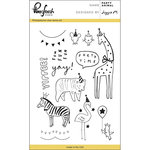 Pinkfresh Studio - Clear Acrylic Stamps - Party Animal