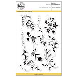 Pinkfresh Studio - Clear Acrylic Stamps - Dainty Botanicals