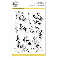 Pinkfresh Studio - Clear Photopolymer Stamps - Dainty Botanicals