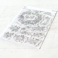 Pinkfresh Studio - Clear Photopolymer Stamps - Floral Elements