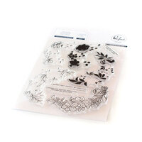 Pinkfresh Studio - Clear Photopolymer Stamp - Charming Floral Wreath