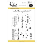 Pinkfresh Studio - Clear Acrylic Stamps - Dream On