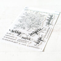Pinkfresh Studio - Clear Photopolymer Stamps - Floral Cluster
