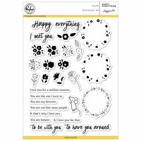 Pinkfresh Studio - Clear Photopolymer Stamps - Happy Everything