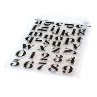 Pinkfresh Studio - Clear Photopolymer Stamp - Heather Lowercase