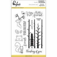 Pinkfresh Studio - Clear Photopolymer Stamps - Forest Friends