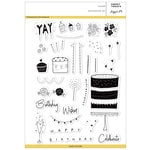 Pinkfresh Studio - Clear Acrylic Stamps - Sweet Treats