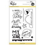 Pinkfresh Studio - Clear Acrylic Stamps - My Star