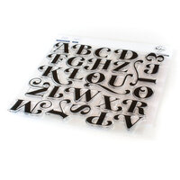Pinkfresh Studio - Clear Photopolymer Stamp - Lea's Ornate Uppercase